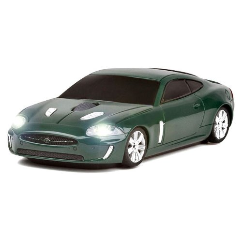 Jaguar XKR Wireless Computer Mouse - Green
