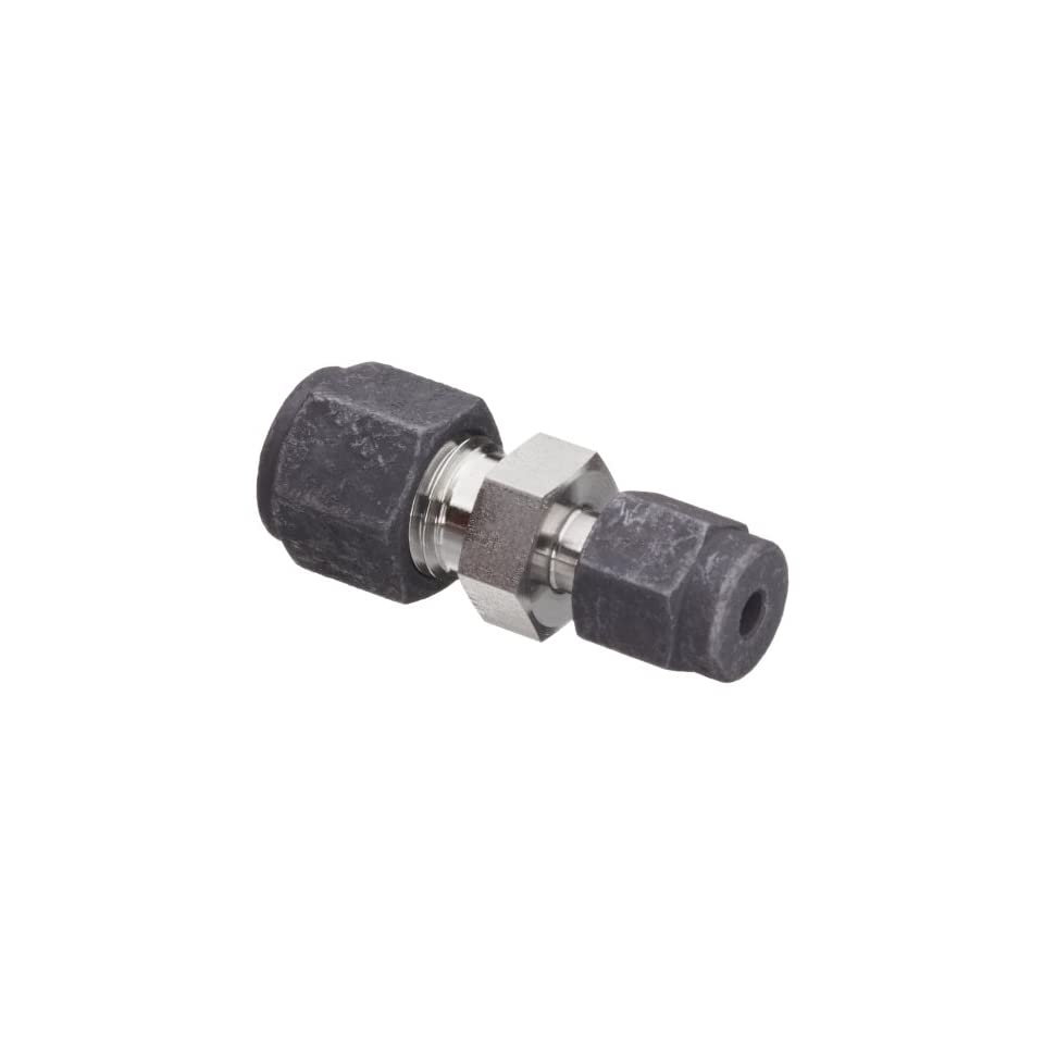 Parker CPI 4 2 HBZ SS 316 Stainless Steel Compression Tube Fitting, Reducing Union, 1/4 Tube OD x 1/8 Tube OD