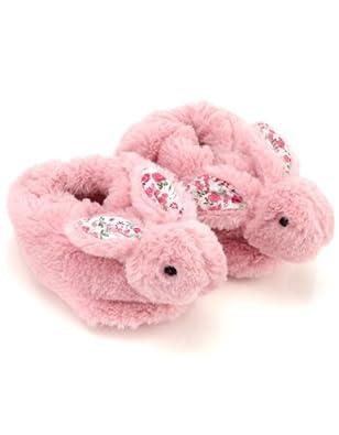 Monsoon Bébé Fille Chaussons fantaisie motif lapin pour bébé