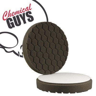 Chemical Guys Hex Logic 6,5' Black Finishing Foam Pad Polierschwamm schwarz Ø165mm