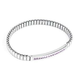 Amazon.com: Brosway Sunrise expansion bangle bracelet with violet