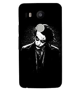 ColourCraft Joker Design Back Case Cover for LG GOOGLE NEXUS 5X