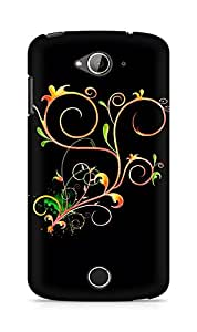 Amez designer printed 3d premium high quality back case cover for Acer Liquid Z530 (Abstract Dark 23)