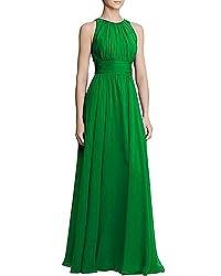Lurap Women's My All Time Fav Gown Green - Regular & Plus Size