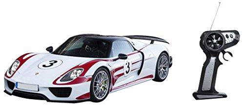 Mondo Motors - 63324.0 - batteria radiofonica corsa di controllo Porsche 918 - Scala 1/16