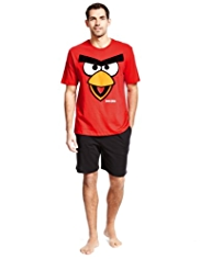 Angry Birds™ Pure Cotton Pyjamas Shorts Set