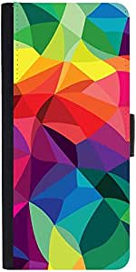 Snoogg Super Colour Patterndesigner Protective Flip Case Cover For Samsung Ga...