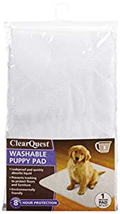 Clear Quest Washable Puppy Pad, Medium, 1-Pack