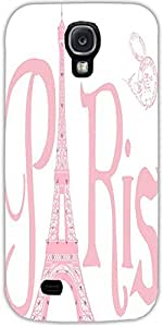 Snoogg Paris Eiffel A 2500 Case Cover For Samsung Galaxy S4
