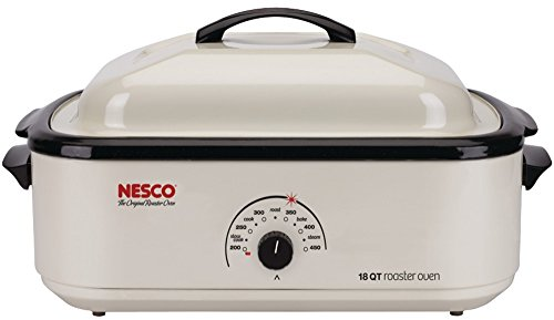 18-Quart Porcelain Roaster Oven Ivory *** Product Description: 18-Quart Porcelain Roaster Oven (Ivory)This Roaster Oven Is One Of The Most Versatile Cooking Appliances Available. It Is Large Enough To Serve As A Primary Kitchen Oven And Convenien *** front-518887