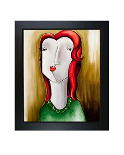 Vantuan Nguyen Red Hair Girl Reproduction Oil Painting
