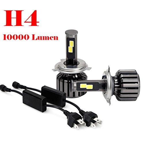 Car Light,LandFox H4 9003 HB2 120W 10000LM CREE LED Headlight Kit Hi/Lo Beam Bulbs 6000K (Led Light Car H4 compare prices)