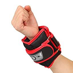 2kg Steel Grit Wrist Power Lifting Straps Supports Workout GYM Fitness Wrap