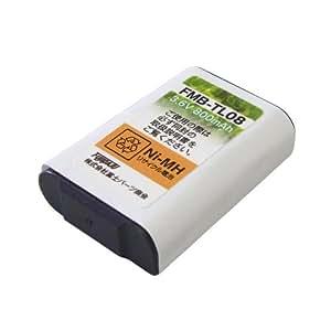 [F-FACTORY] パナソニック コードレスホン子機用充電池【KX-FAN51/HHR-T407 同等品】FMB-TL08