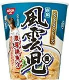 日清 有名店シリーズ 風雲児 濃厚鶏魚介 1箱(12入)