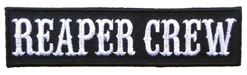 Reaper Crew Embroidered Biker Patch