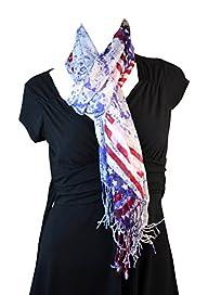 Elegant Long American US Flag Patriot…