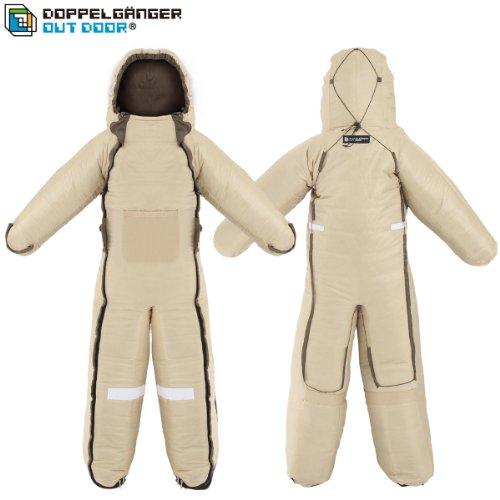 DOPPELGANGER(ドッペルギャンガー) アウトドア ヒューマノイドスリーピングバッグ 人型寝袋 ver.5.0 DS-01B Andy [最低使用温度 5度]