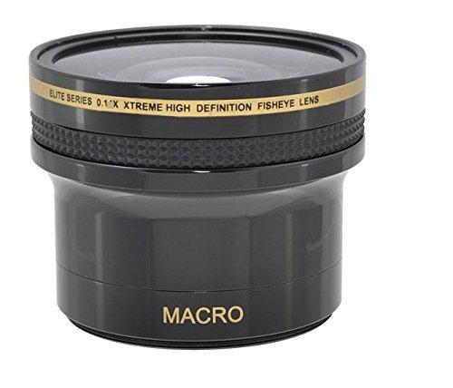 0.17x Fish-Eye WEITWINKEL VORSATZKONVERTER Objektive mit MAKROLINSE (für 52mm, 58mm Anschlussgewinde) für Nikon 3000, D3100, D3200, D3300, D5000, D5100, D5200, D5300, D5500, D7000, D7100, DF, D3, D3S, D3X, D4, D40, D40x, D50, D60, D70, D70s, D80, D90, D100, D200, D300, D600, D610, D700, D750, D800, D800E, D810 SLR-Digitalkamera