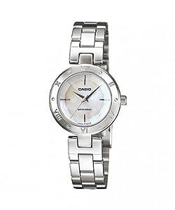 Casio Damen-Armbanduhr Analog Edelstahl gold LTP-1342D-7CEF