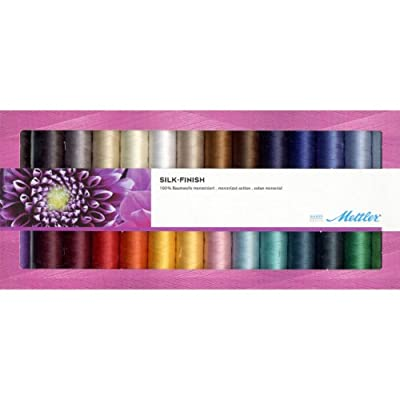 Mettler Thread Silk Finished 100% Mercerized Cotton Sewing Sets