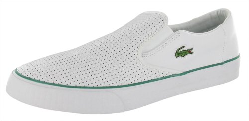 a808d8c1bc LACOSTE Lyndon Alligator Logo Mens Slip On Shoes Leather | Lacoste ...