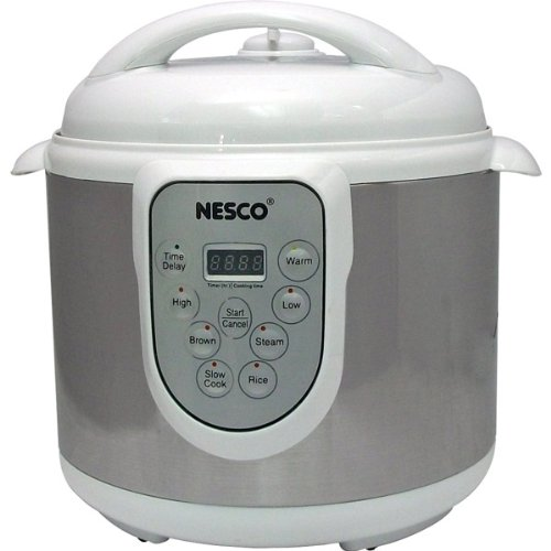 Nesco Genuine 6-Quart Stainless Steel Pressure/Slow