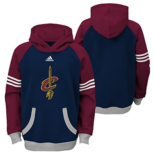 NBA Brand NBA Youth 8-20 Cleveland Cavaliers Robust Pullover Hoodie, M(10-12), Dark Navy (Nba Clothing compare prices)