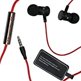 Monster ibeats Beats by Dr. Dre Black/Red High Performance In-Ear Headphone Earphone for iPod, iPad, iPhone3G, iPhone 4, iPhone 4S, Android, Smartphone, Galaxy S and other 3.5mm MP3 Devices - BULK Packaging