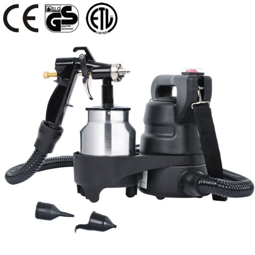 Professional Hvlp Spray Gun Auto Paint Bottom Feed Sprayer 1.0Mm W/ Motor For Home Improvement