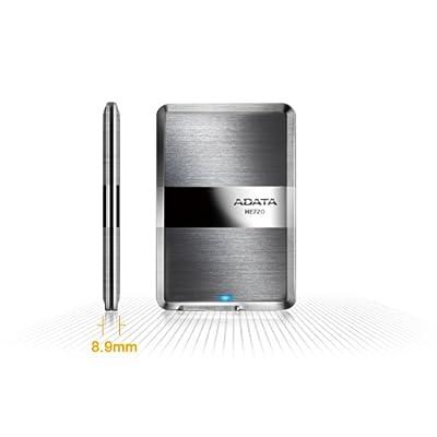 Adata Dash Drive HE720 500 GB External Hard Drive Portable (Titanium)