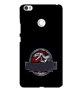 EPICCASE Jurassick park skeleton Mobile Back Case Cover For Xiaomi Mi Max (Designer Case)