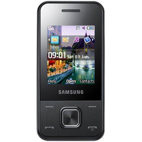 Samsung E2330 Unlocked Phone with Camera, FM Radio, and Music Player - Unlocked Phone - International Warranty - Black