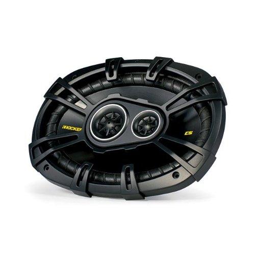 """Kicker 40Cs6934 6""""X9"""" 3-Way Car Speakers"""