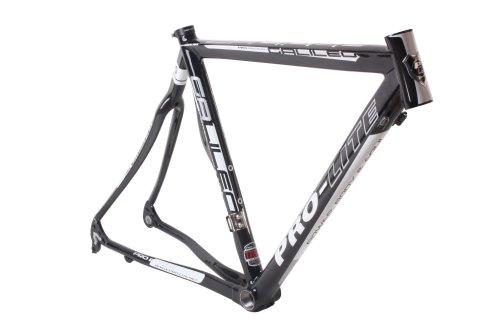 Pro-Lite Galileo Road Bike Rancing Frame 54 cm Carbon Fiber Gloss Black