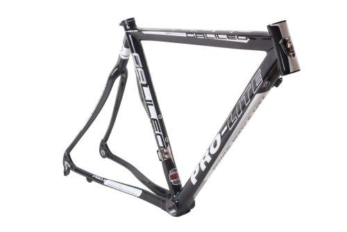 Pro-Lite Road Bike Galileo Frame 52cm Semi-Clear Custom Painting Black 1252g