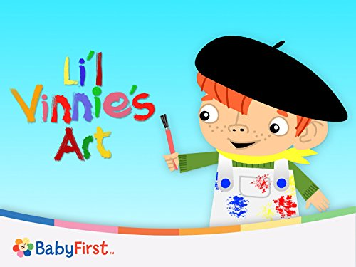 Fun Kid's Art With Li'l Vinnie - The Masters