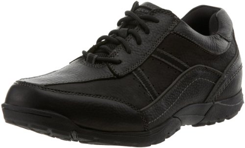 Rockport Men's Ct 2 Stripe Oxford,Black,11 M US