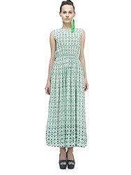 Zaivaa Tricia Floral Maxi Dress