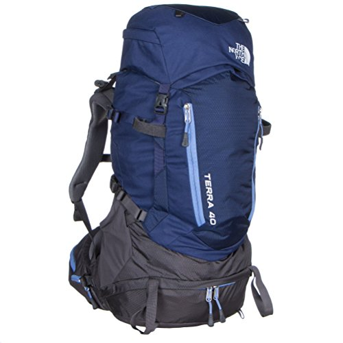The North Face Terra 40 Hiking Backpack Womens ( Patriot Blue/Persian Jewel, XS/S) (The North Face Breeze compare prices)