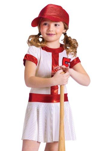 Fun World Kids Girls Baseball Sports Halloween Costume Dress Medium Review  sc 1 st  World Apparel Discount & World Apparel Discount: Fun World Kids Girls Baseball Sports ...