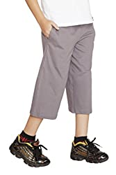 Clifton Boys Capri -Steel Grey -XXL -12-13 Y