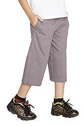 Clifton Boys Capri -Steel Grey -XXL -12-13 Y