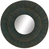 Contemporary Styled Beautiful Metal Wall Mirror