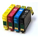 Epson WorkForce WF 2530WF x4 Compatible High Capacity Ink Cartridges 16XL