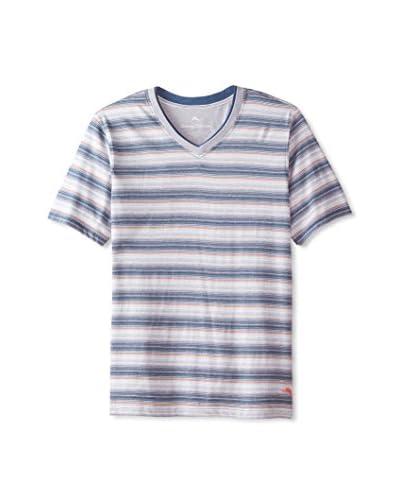 Tommy Bahama Men's Short Sleeve Yarn Dyed Stripe Tee