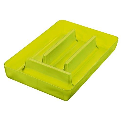 Koziol portaposate per cassetti verde oliva trasparente - Portaposate per cassetti ...