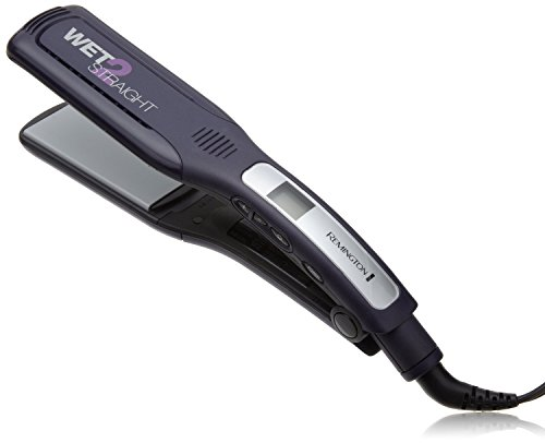Remington S8001G Wet 2 Straightener Wide Plate Wet/Dry Ceramic Hair Straighten Tourmaline 2 inch Iron (Certified Refurbished)