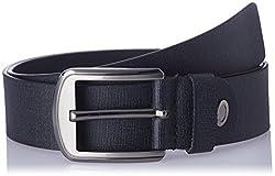 Dandy AW 14 Black Leather Men's Belt (MBLB-274-M)