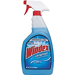 Commercial Line Windex Glass Cleaner 32oz - 2 pack